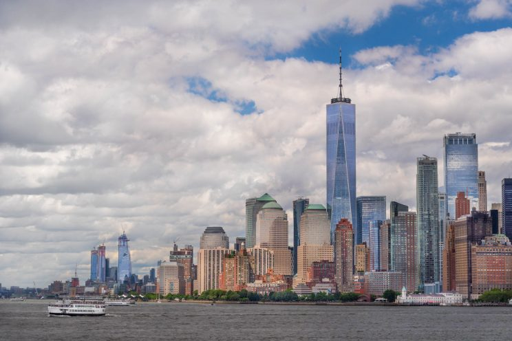 Freedom Tower - New York City   f/9 1/400sec ISO-100 55mm