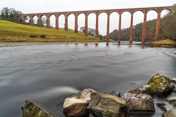 Leaderfoot Viaduct viewpoint 2   f/8 25sec ISO-200 24mm