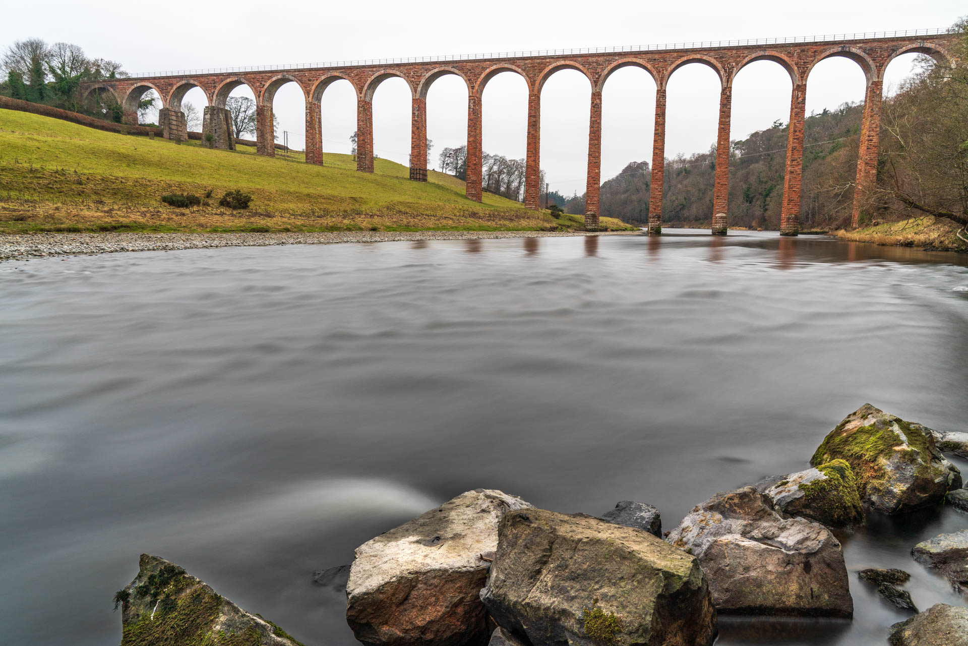 Leaderfoot Viaduct viewpoint 2 | f/8 25sec ISO-200 24mm