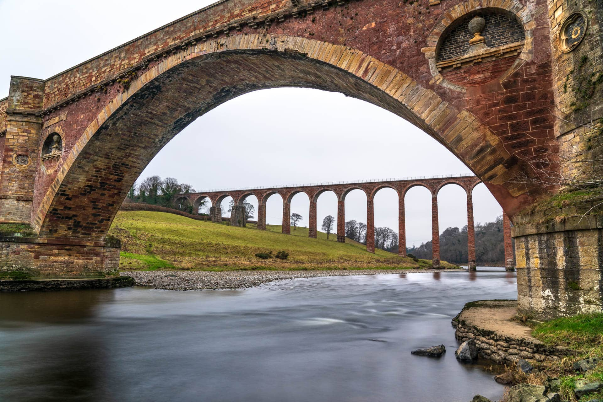 Leaderfoot Viaduct viewpoint 3   f/8 30sec ISO-100 24mm