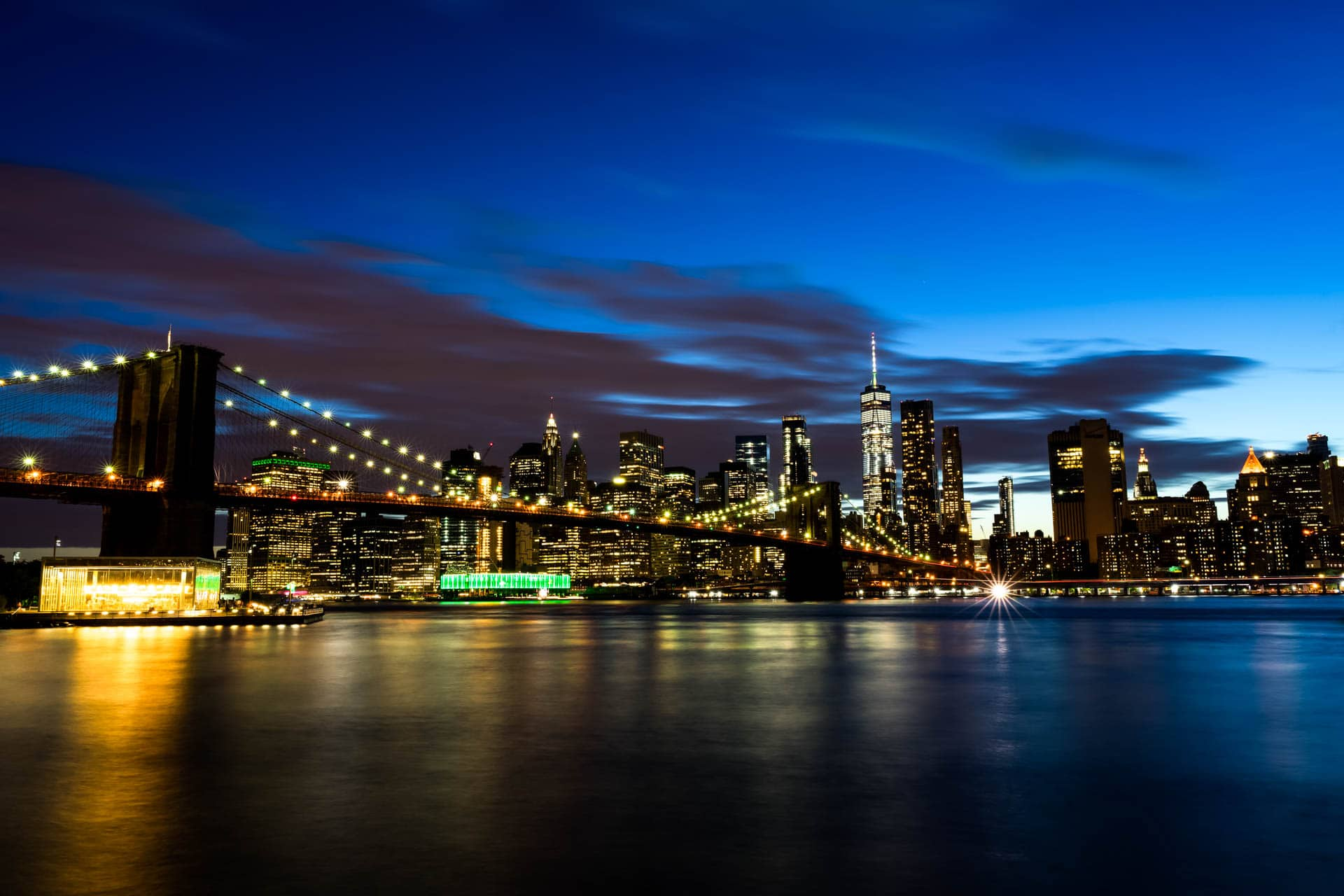Manhattan - New York City | f/14 30sec ISO-100 28mm
