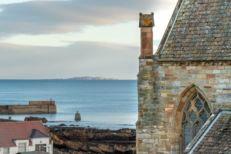 St Monans Sea view Scotland | f/14 1/125sec ISO-1000 105mm