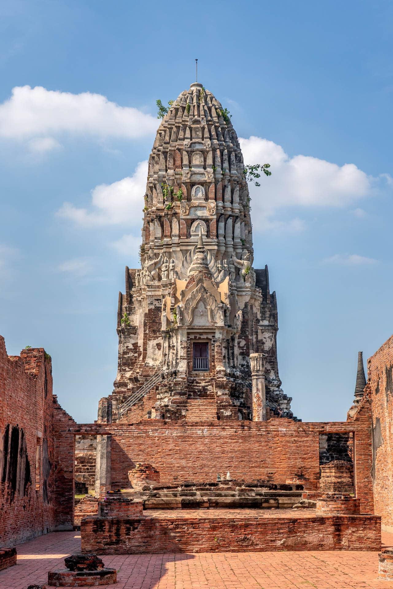 Wat Ratchaburana | f/8 1/1000sec ISO-400 43mm