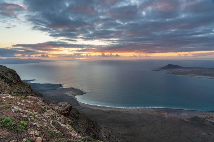Coast view from Mirador del Rio | f/13 1/30sec ISO-500 24mm