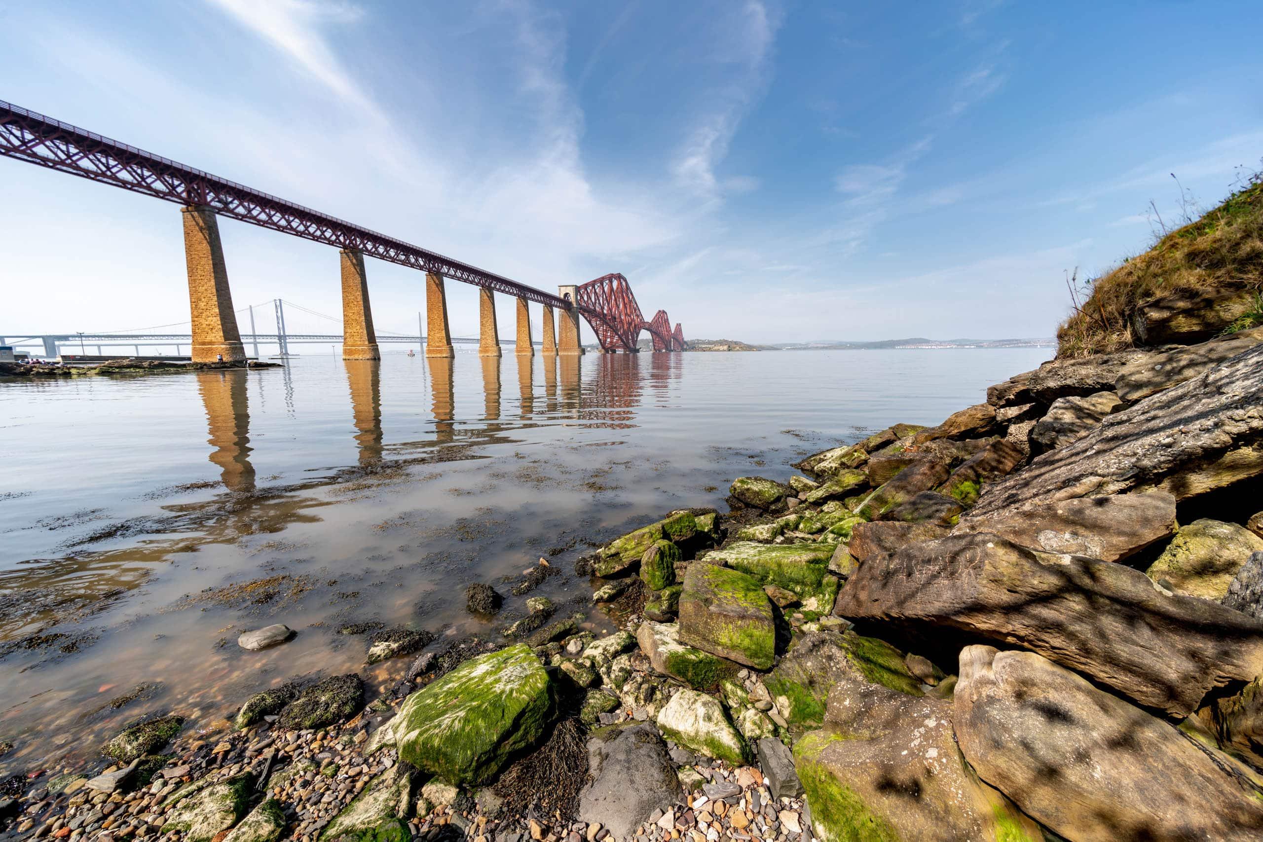 South Queensferry Rail Bridge | f/8 1/250sec ISO-100 12mm  | ILCE-7RM3