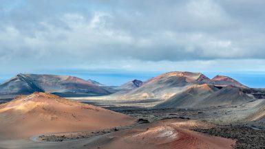 Timanfaya National Park Landscape