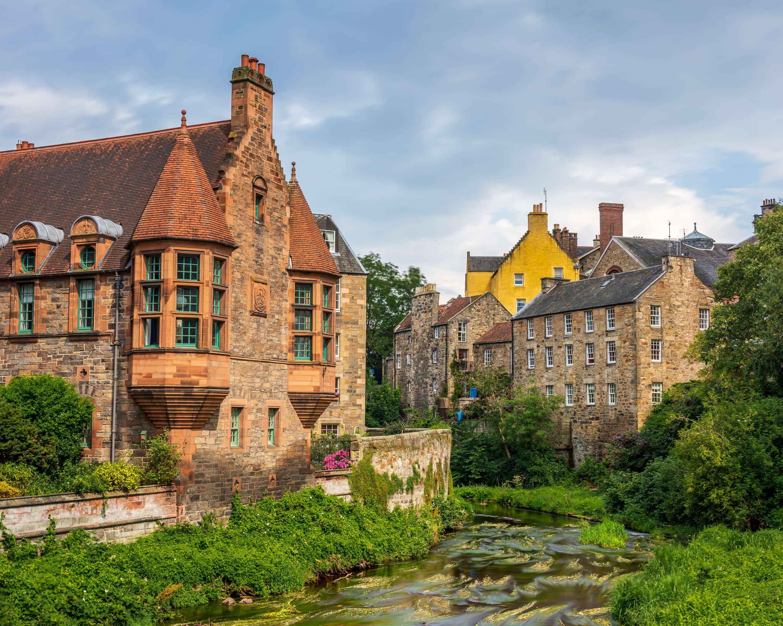 Dean Village | f/8 10sec ISO-100 35mm  | ILCE-7RM3