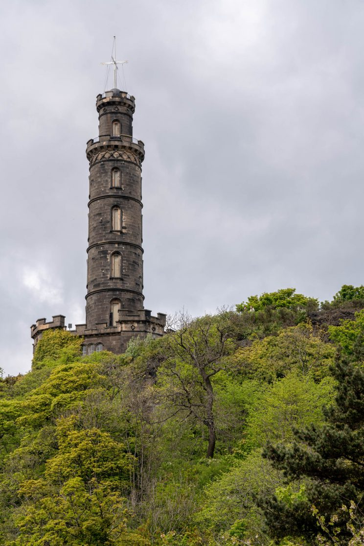 Edinburgh Nelson Monument | f/8 1/400sec ISO-100 90mm  | ILCE-7RM3