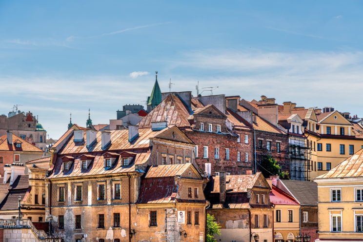 Old Town skyline Lublin | f/8 1/250sec ISO-100 105mm  | ILCE-7RM3 | 2019-06-24 10:48:33