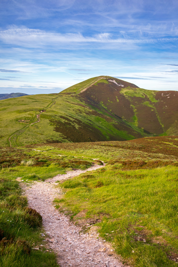 Path in Pentland Hills | f/5.6 1/250sec ISO-100 35mm  | ILCE-7M2