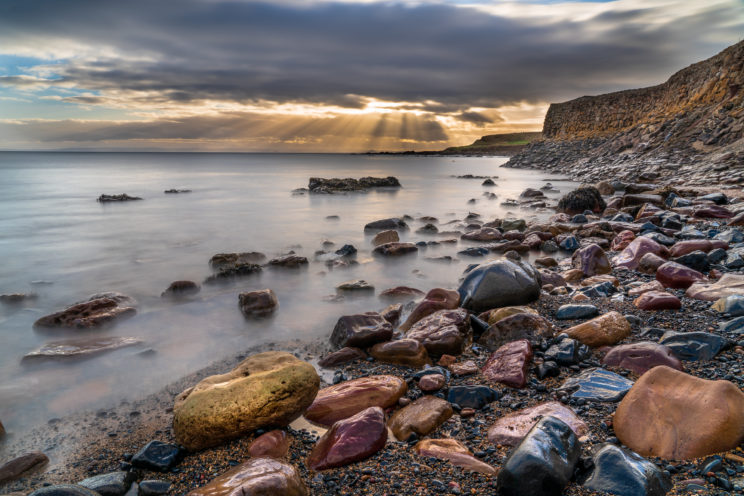 Roome Bay next to Crail | f/13 15sec ISO-100 24mm | ILCE-7RM3