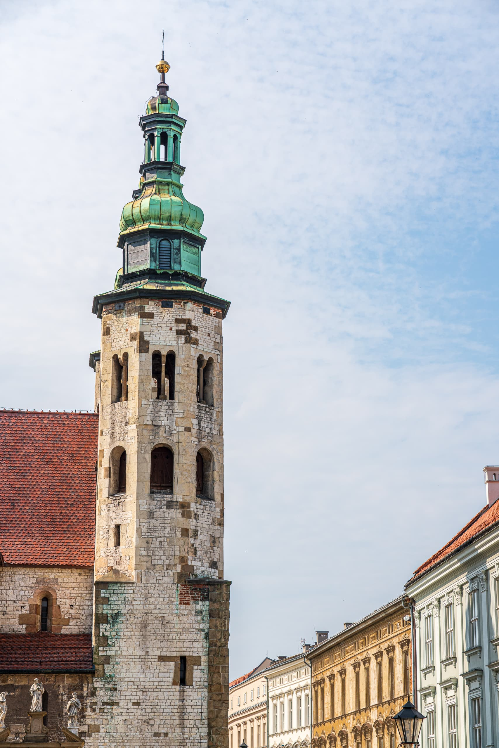 St. Andrews Church Kraków | f/8 1/500sec ISO-100 78mm  | ILCE-7RM3 | 2019-06-21 07:21:28