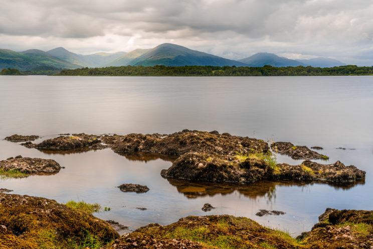 View across Loch Lomond #1