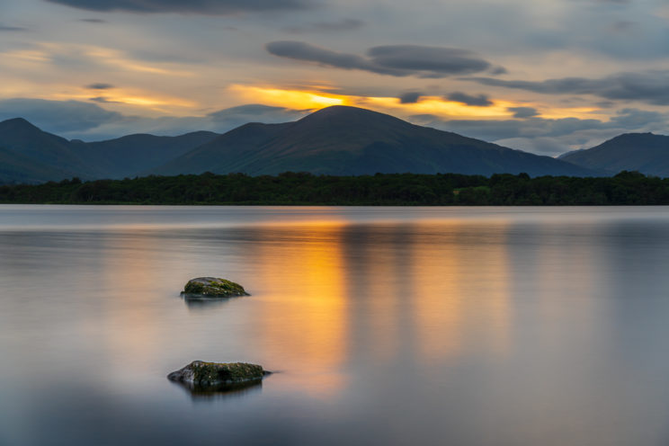 View across Loch Lomond from Inchcailloch Island | f/7.1 30sec ISO-100 70mm  | ILCE-7RM3