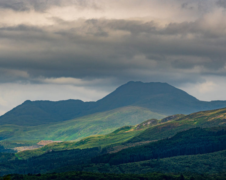 View from summit of Inchcailloch Island towards Ben Lomond | f/8 1/1250sec ISO-100 105mm  | ILCE-7RM3