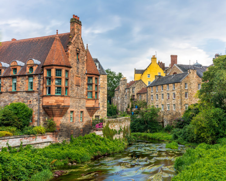 Dean Village and Water of Leith | f/8 10sec ISO-100 35mm  | ILCE-7RM3