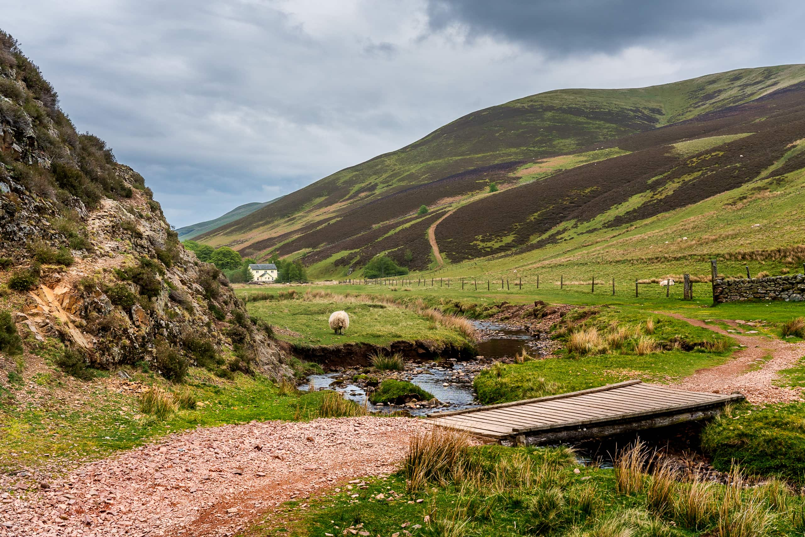 Path to a farmhouse in Pentlands | f/13 1/40sec ISO-200 39mm  | ILCE-7RM3