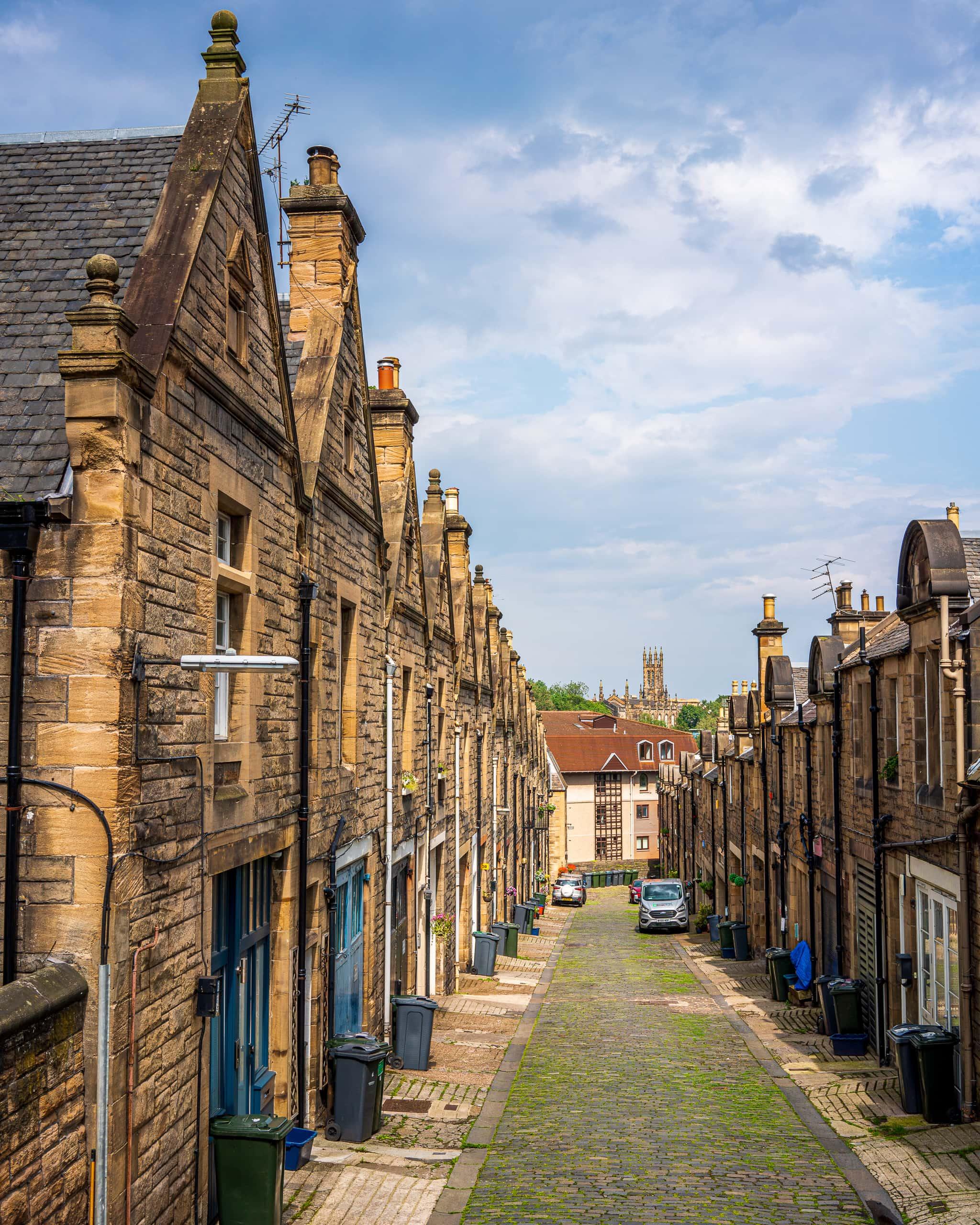 Street in Dean Village | f/8 1/320sec ISO-100 35mm  | ILCE-7RM3
