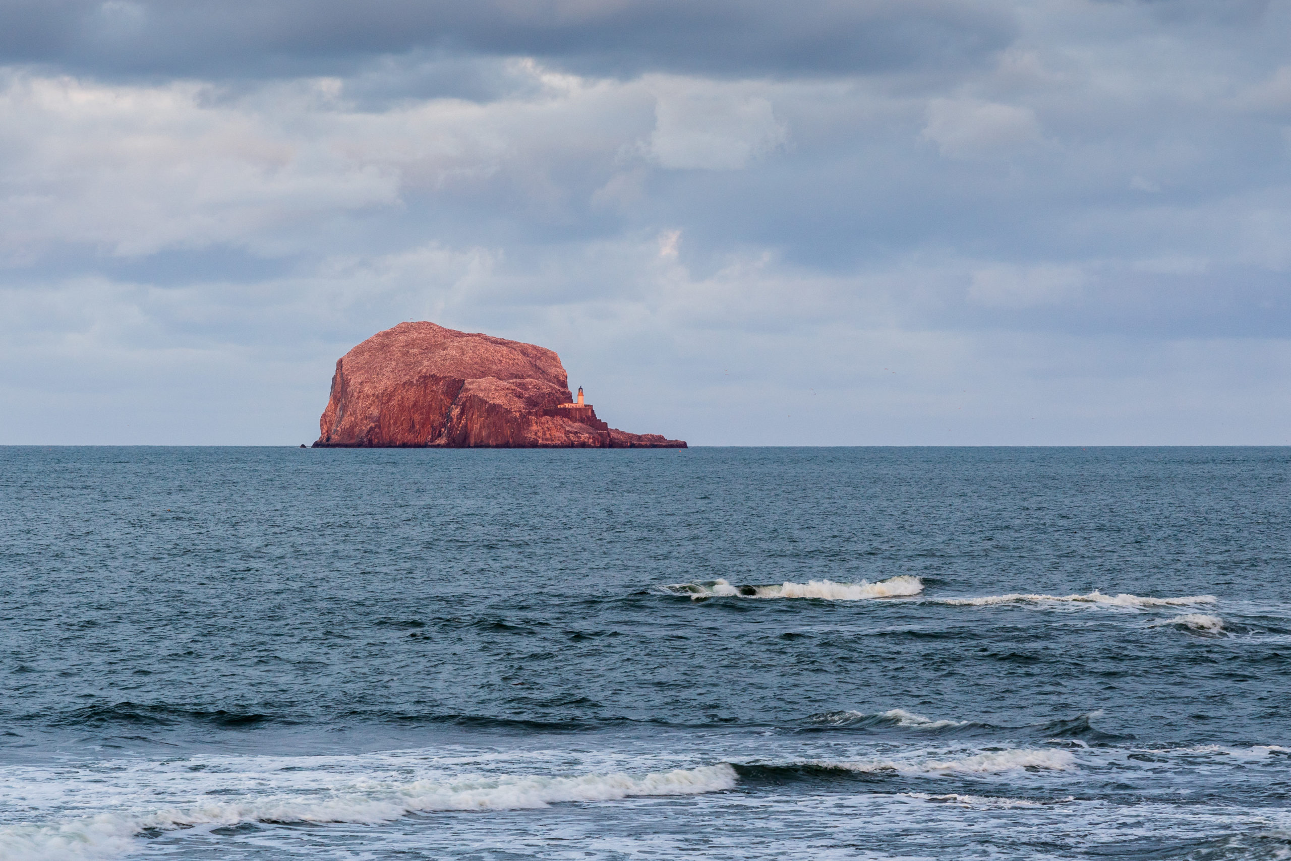 Bass Rock #1 | f/8 1/30sec ISO-400 105mm  | ILCE-7RM3
