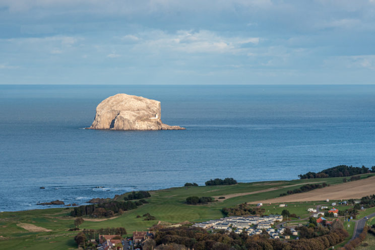 Bass Rock View from North Berwick Law | f/11 1/160sec ISO-125 105mm  | ILCE-7RM3