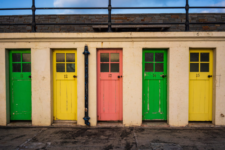 Doors at the harbour | f/8 1/250sec ISO-100 35mm  | ILCE-7RM3