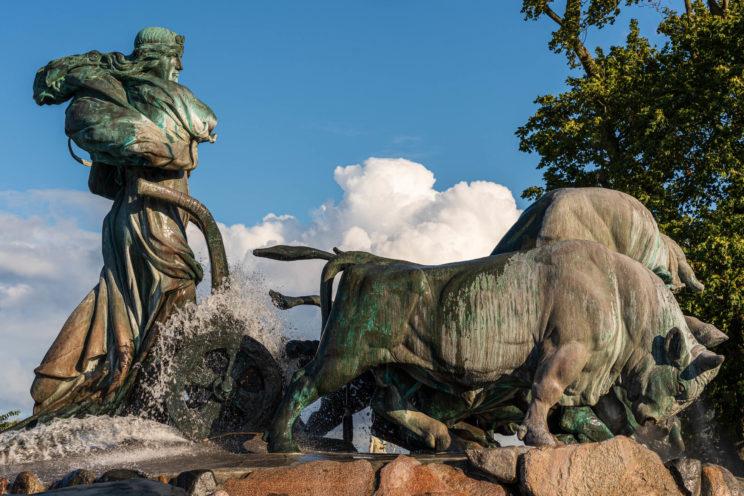 Gefion Fountain 2