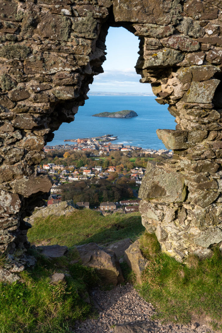 View from North Berwick Law to the North 2| f/13 1/50sec ISO-100 35mm  | ILCE-7RM3