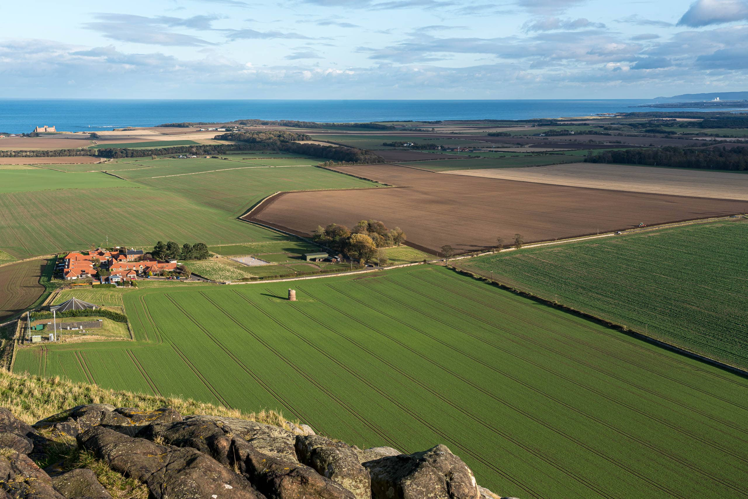 View from North Berwick Law to the east | f/13 1/60sec ISO-100 43mm  | ILCE-7RM3
