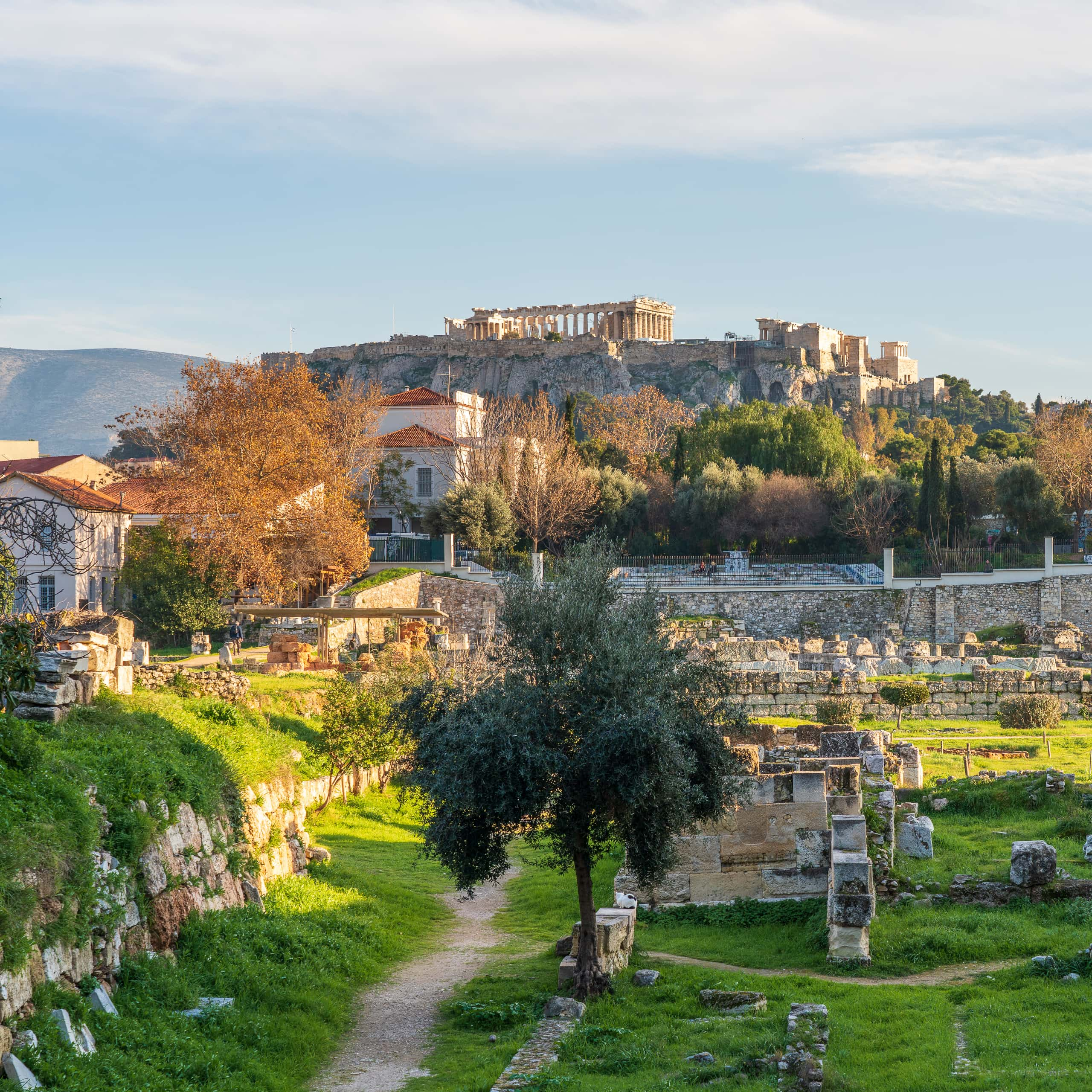 Archaeological Site of Kerameikos and Parthenon