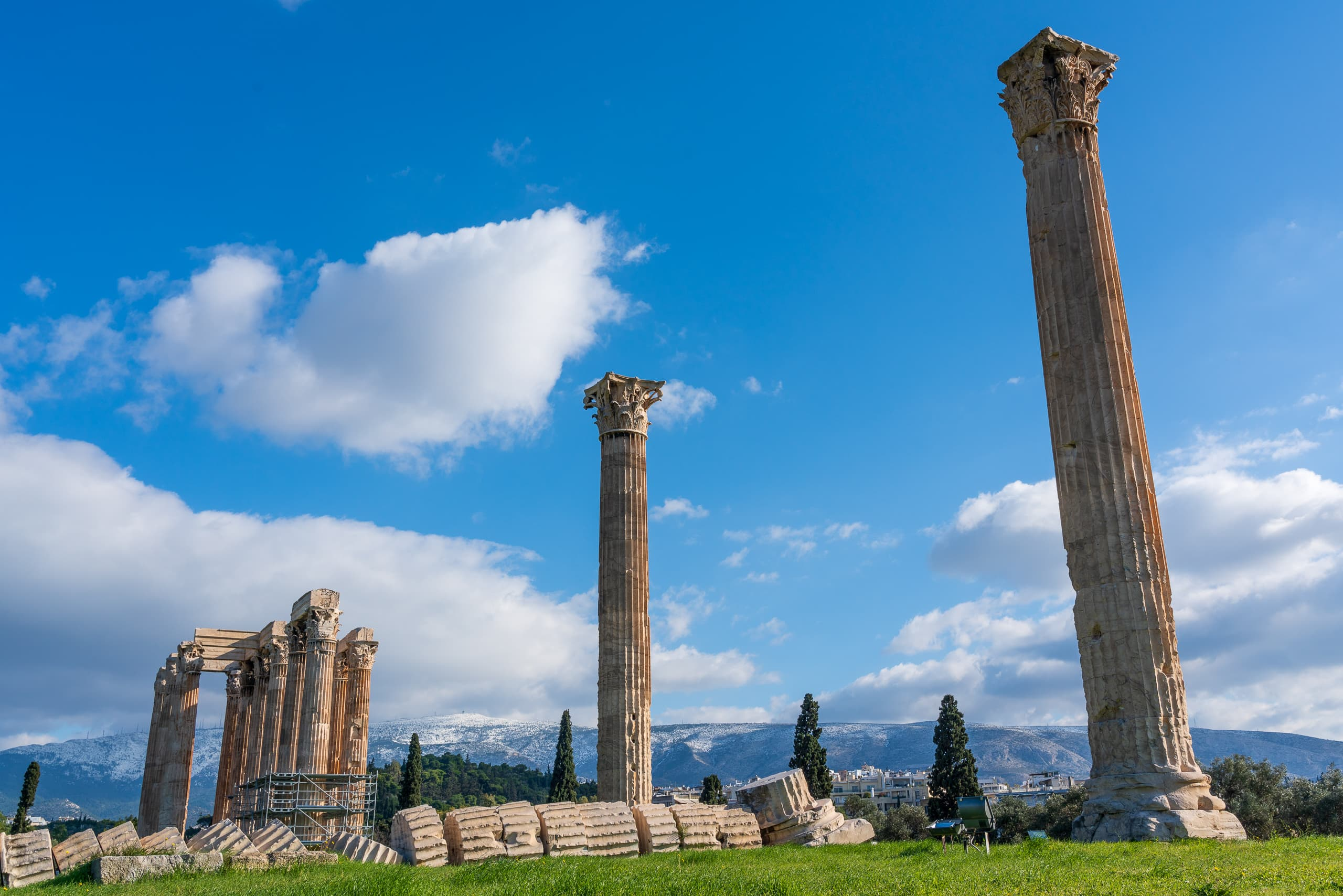 Temple of Olympian Zeus #1 | f/11 1/250sec ISO-100 31mm  | ILCE-7RM3