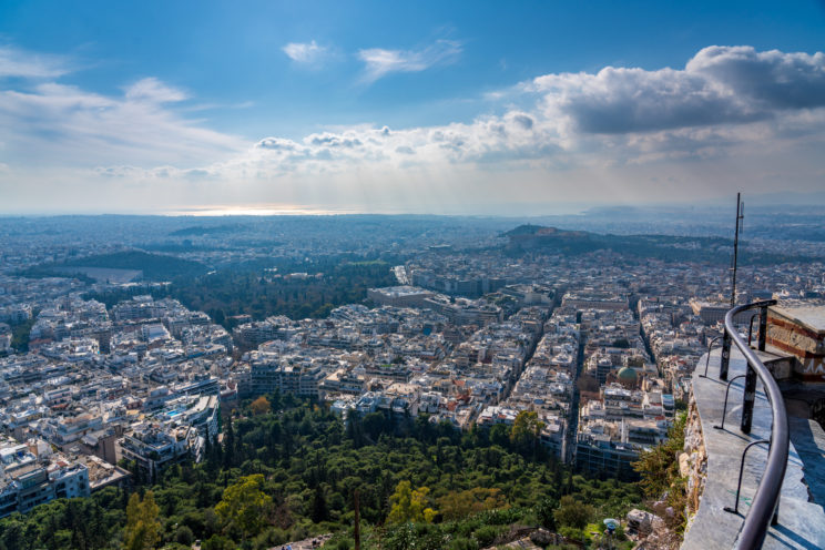 View from Lycabettus Hill 2